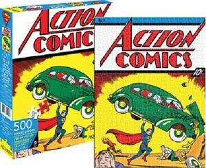 DC Comics Superman Comic Cover 500piece Jigsaw Puzzle