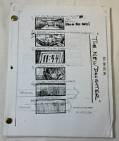 2008 THE NEW DAUGHTER original horror movie STORYBOARDS for several scenes