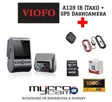 VIOFO A129 Duo IR Front/interior Taxi Dashcam 1080 GPS Hardwire 64gb CPL Remote