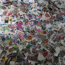 1 KG (1 KILO) Great Britain Off Paper Stamps Mixture