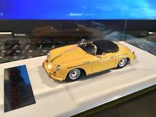 1/43 ScaleArt Porsche 356 Speedster 1958 Yellow AMR LePhoenix Esprit n BBR MR