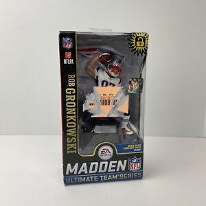 Rob Gronkowski New England Patriots Madden NFL 19 Series 2 McFarlane Exclusive