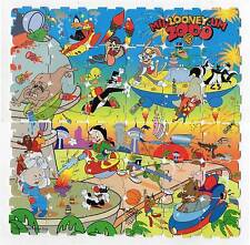 LOONEY TUNES Complete set Tazos Pogs PUZZLE VINTAGE RARE Toys Collection Figures