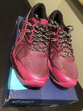 Asics Women's-Gel Fujitrabuco 6 - Trail Running U.K. 6.5 EUR: 40- Pink/Black