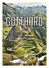 Pass Portrait Gotthard Porsche Drive Schweiz Switzerland Streckenplan Tour Buch