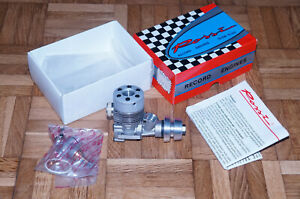 Rossi Speed R-21 3.5cc 2-Stroke Nitro Marine Racing RC Model Engine  Vintage!