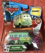 Disney Pixar Cars ~ Fillmore w/ Gas Cans ~ Chase Vehicle Series Diecast Mattel