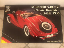 Mercedes-Benz Classic Roadster 540K 1936 - Pocher 1/8 Scale - Kit Complete