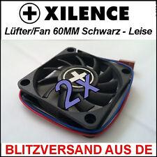 2x [Xilence] 60mm Gehäuse-Lüfter/ Fan →6cm Case PC Cooler Kühler CPU XPF60S