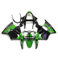 ABS Green Fairing Bodywork Set Fit For Kawasaki Ninja ZX6R 2000-2002 2001 01 02