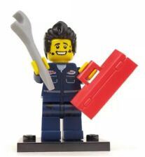 Mechanic Series 6 Toolbox Wrench Grease Monkey Ralph LEGO Minifigure New