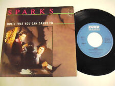 SPARKS Music That You Can Dance To 7""