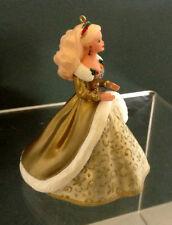 1994 Holiday Barbie Collector's Series Hallmark Keepsake Ornament In Box Unused