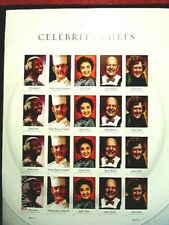4926b imperf Celebrity Chefs pane/20 vf MNH, cat 30.-*