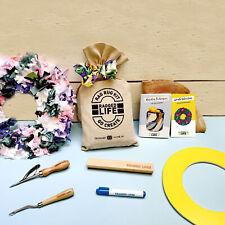 Rag Rug Wreath Kit - Ragged Life - Christmas, Summer or Spring