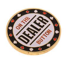 Métal Poker Guard Card Protector Coins Puce Or Plaqué Commémoratives