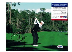 Dustin Johnson PGA Golf Signed Photo PSA/DNA Certified