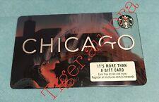 New Starbucks CHICAGO CARD 2019
