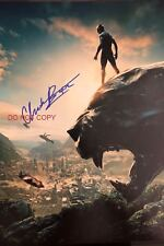 Chadwick Boseman Avengers Infinity War Black Panther Reprint SIGNED 12x18 Poster
