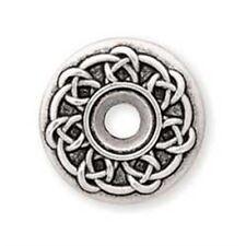 "Celtic Bezel Screwback Concho - 3 4"" Leathercraft Decorative Accent Tandy"