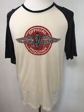 Izod Mens short sleeve round neck tee shirt with Indianapolis Speedway on front