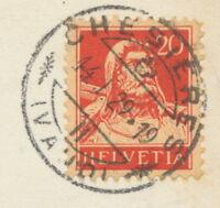 SCHWEIZ CHESIÈRES / (VAUD) seltene K1 1929 AK RP Chesières Villars – Vue général