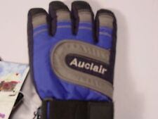 New Auclair DRYITEX Ski Gloves Junior Juniors Medium Blue and Black