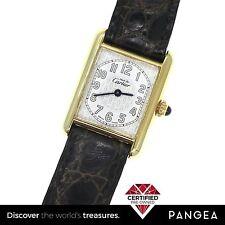 Must De Cartier 2415 Argent Quartz 925 Sterling Silver 22mm Watch