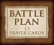 The Battle Plan Prayer Cards by Alex Kendrick, Stephen Kendrick (Hardback, 2016)
