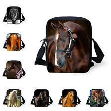Animal Horse Print Women/Men's Purse Handbag Crossbody Hobo Shoulder Bag Satchel