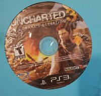 UNCHARTED 3: DRAKE'S DECEPTION PLAYSTATION 3 PS3 DISC ONLY