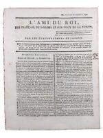 Marie Antoinette et Roi Louis 16 1791 Caumont sur Durance Mazan Vaucluse Danton