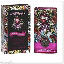 ED HARDY HEARTS AND DAGGERS FOR WOMEN 100ml EDP SPRAY CHRISTIAN AUDIGIER PERFUME