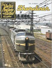 Shoreliner Magazine V22 N2 1991 Newport Express Wreck Racetrack Trains Diesel