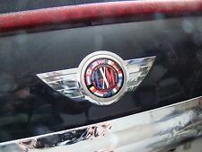"LXM International MINI Cooper, Clubman, Countryman sticker, 1.5"" diameter"