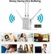 AC1200 WiFi Range Extender  360 Degree WiFi Booster Signal Amplifier with 4 Ante