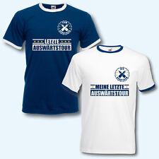 T-Shirt Trikot Retro-Shirt, JGA Auswärtstour, Junggesellenabschied, Fußball