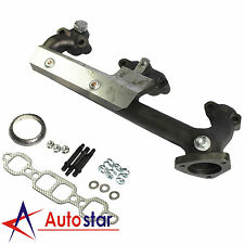 New Left LH Exhaust Manifold With Heat Shield For GMC Chevrolet Pickup Truck SUV