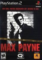 Max Payne PS2 New Playstation 2