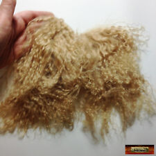 M00443 MOREZMORE Tibetan Lamb Remnants SAND DIRTY BLONDE Doll Hair Wig A60
