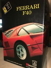 Pocher Ferrari F40 1/8 scale model kit.