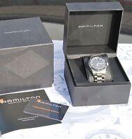 Orologio Hamilton AUTOMATIC Jazzmaster SEAVIEW DAY DATE come nuovo H37565131
