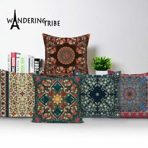Scandinavian Style Vintage Throw Pillow Covers Geometric Cushions Cushion Cover