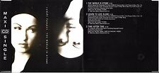 MAXI CD SINGLE 3T CYNDI LAUPER THE WORLD IS STONE (MICHEL BERGER) 1992