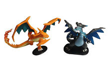Pokemon Figure Set - Mega Charizard X and Mega Charizard Y (2.5 Inches Tall)