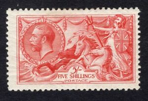 1915 Great Britain. SC#174a. SG#410. Mint, Lightly Hinged, VF.