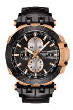 New Tissot T-Race MotoGP Rose-Tone LTD Rubber Strap Men's Watch T1154273705100
