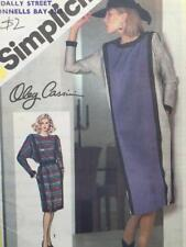 Simplicity Sewing Pattern 6570 Misses Ladies Loose Fitting Dress Size 10 Uncut