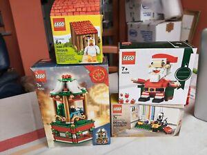 LOTTO 4 SET LEGO NUOVI SIGILLATI MAI APERTI