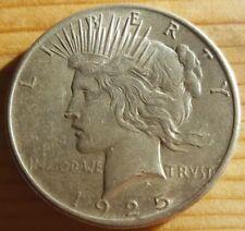 1925 Peace Dollar rare silver coin KM# 150
